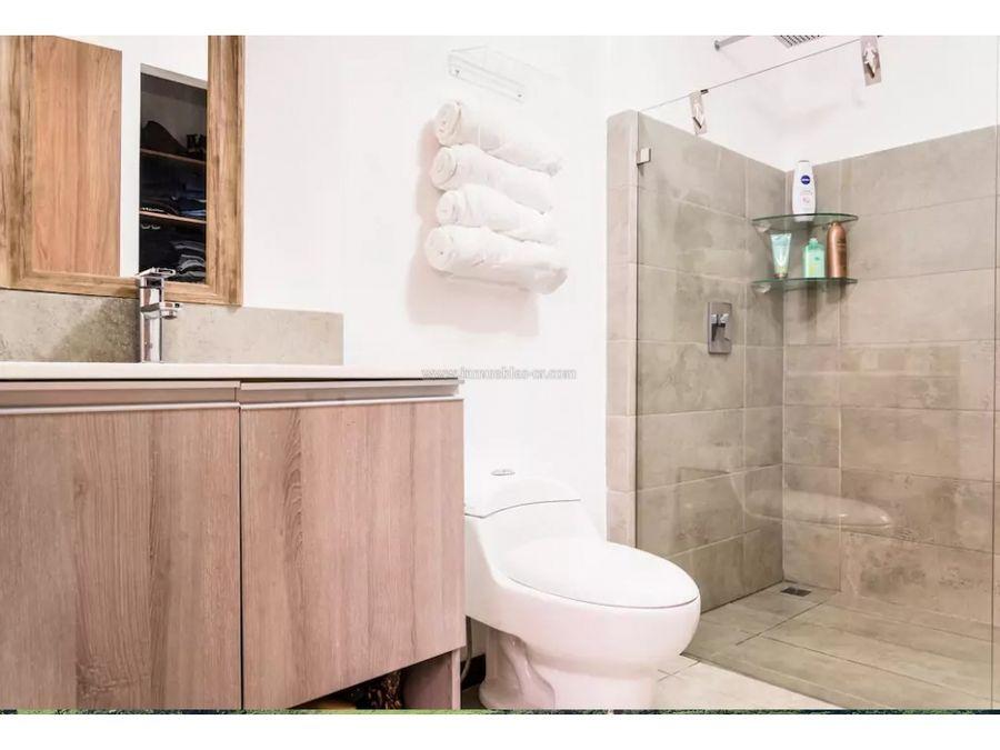 moderno y hermoso apartamento amueblado en san antonio escazu