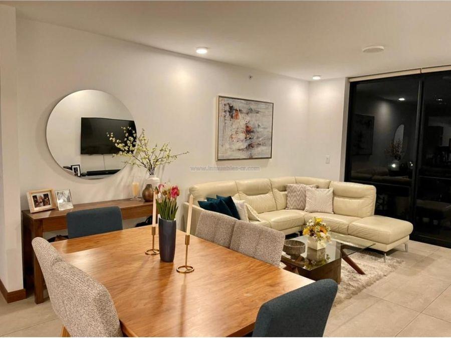 bello apartamento amueblado en nunciatura