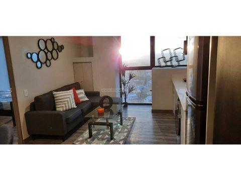bello apartamento amueblado en torre exclusiva en nunciatura