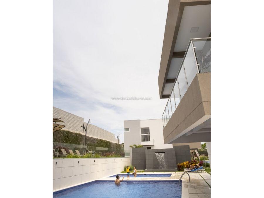 condominio en guachipelin con las mejores areas sociales