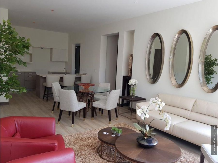 apartamento moderno de 1 nivel
