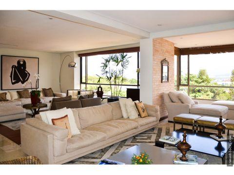 apartamento de lujo con vista espectacular sin muebles