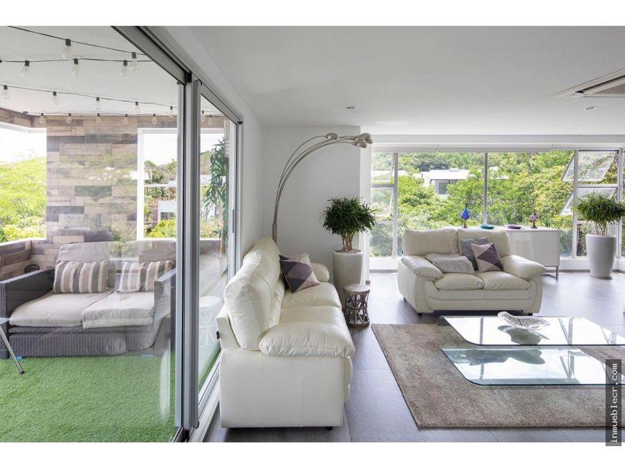 apartamento moderno y amplio amueblado