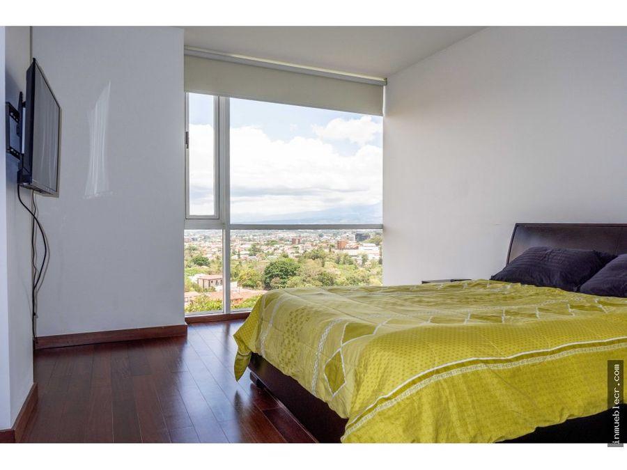 lujoso hermosa vista con muebles