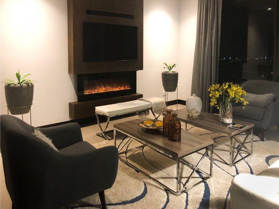 lujoso apartamento excelentes acabados lomas del valle