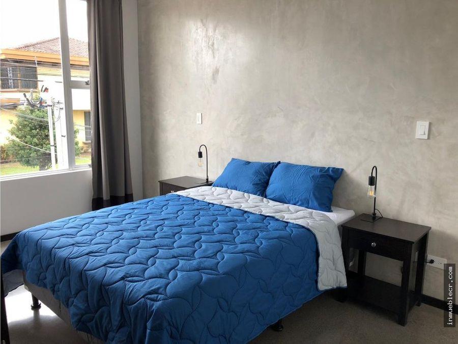 apartamento nuevo 2 hab en rohrmoser san jose