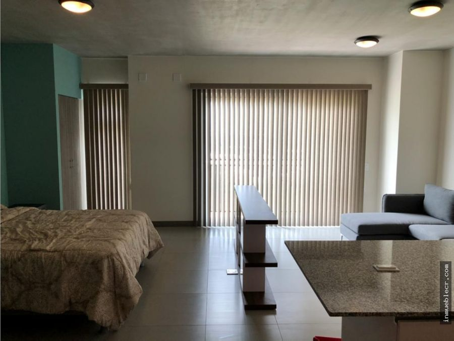 apartamento tipo estudio amueblado
