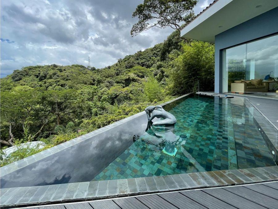 casa contemporanea en condominio de lujo villa real