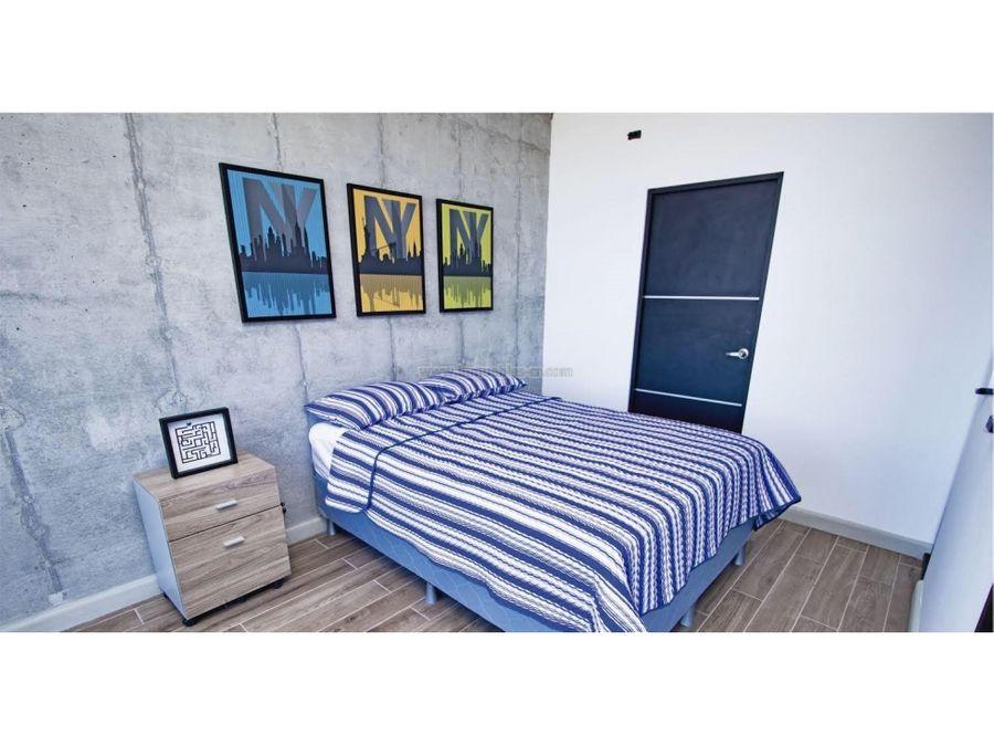 apartamento moderno con linea blanca en pozos san ana