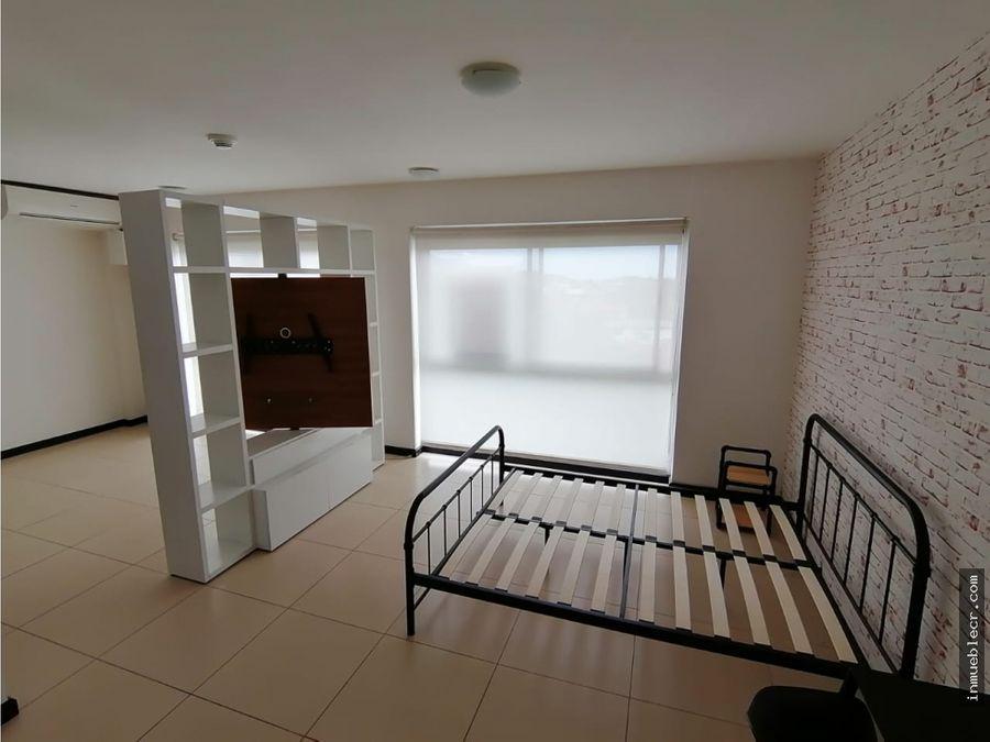 apartamento tipo estudio sin muebles