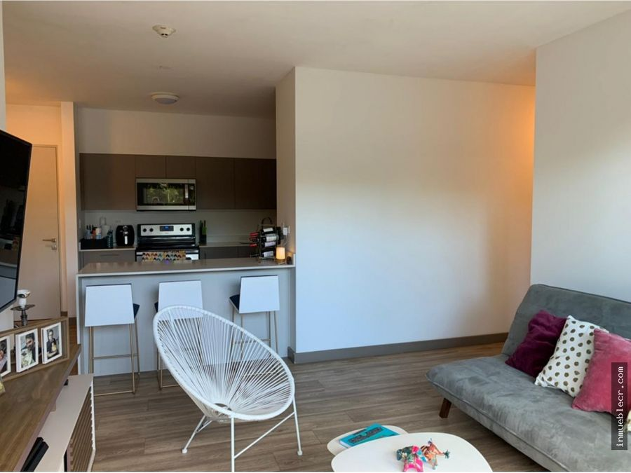 bello apartamento amueblado en venta en brasil de mora