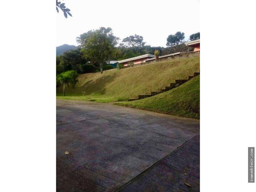 casa con hermosa vista