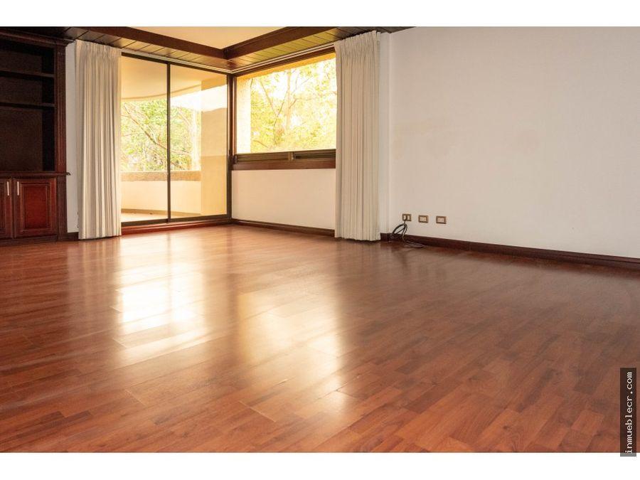 precioso apartamento en alquiler en escazu