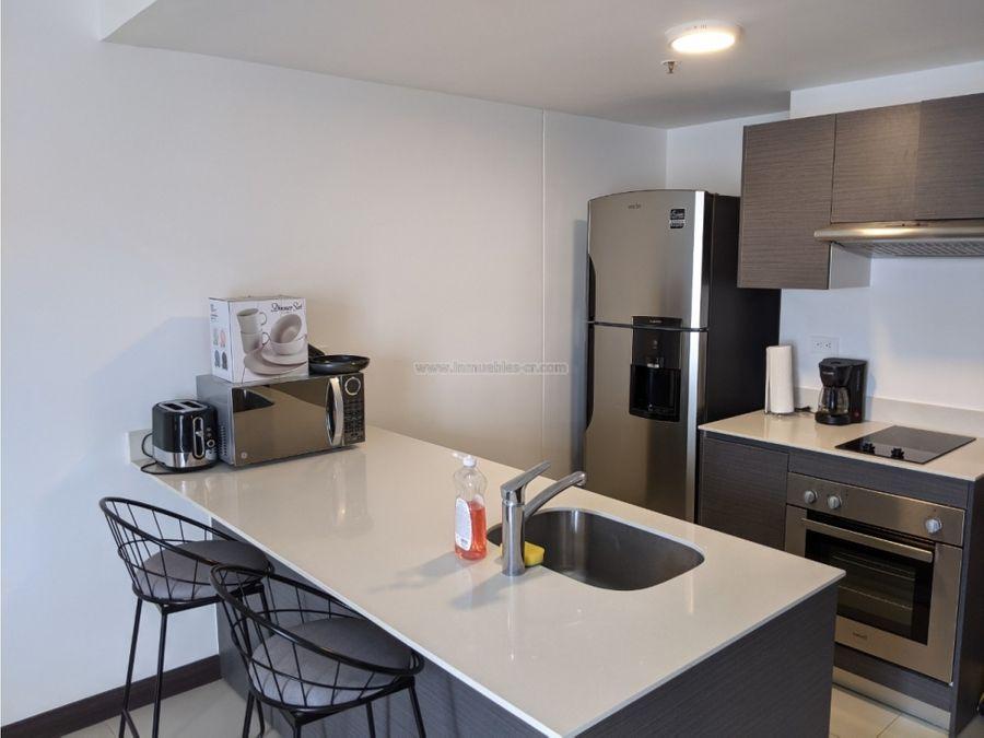 apartamento completamente amueblado tipo estudio rohrmoser