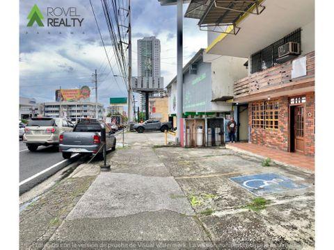 local para restaurante sobre calle 50