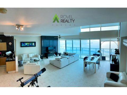 apartamento con vista al mar ph sky avenida balboa venta