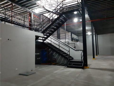 bodega 3600 m2 parque industrial