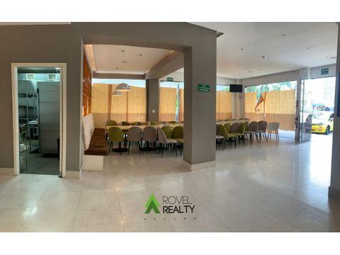 restaurante listo para trabajar en bella vista 150 m2