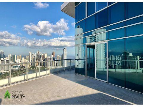 yatch club terraza privada 50th floor