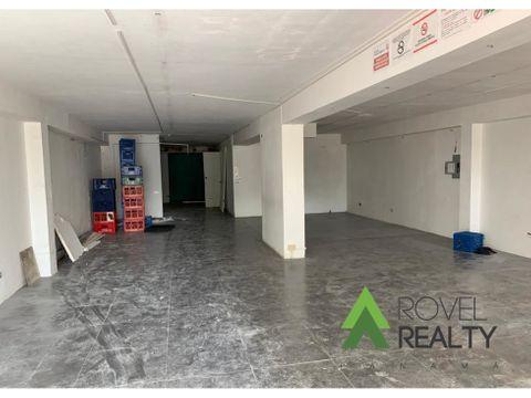 local comercial local en obarrio 1250 150m2