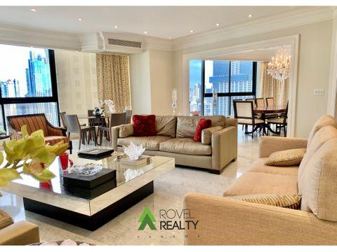 apartamento en platinum tower punta paitilla