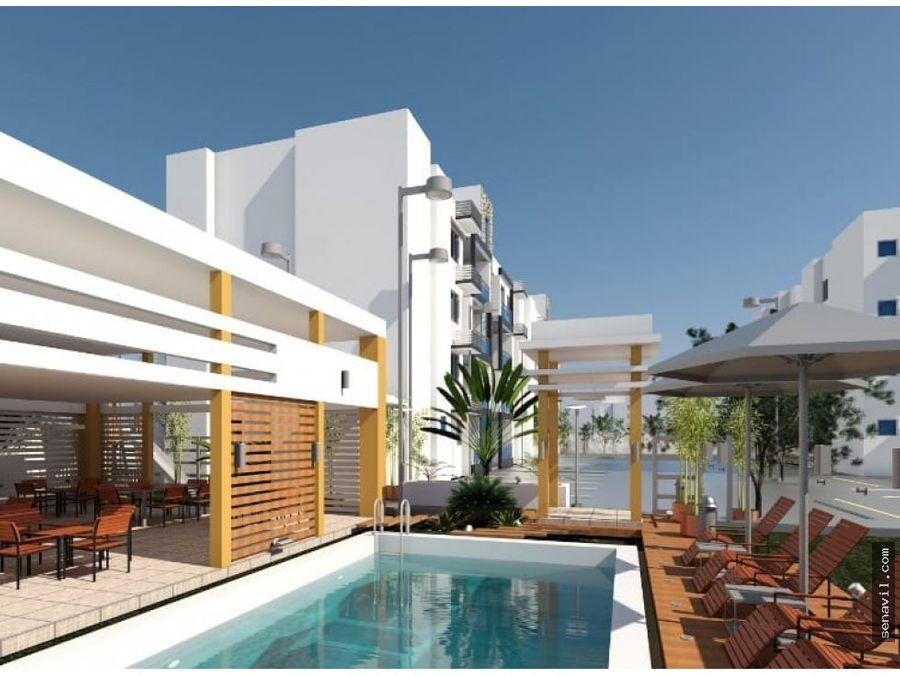 apartamento con piscina en dorado