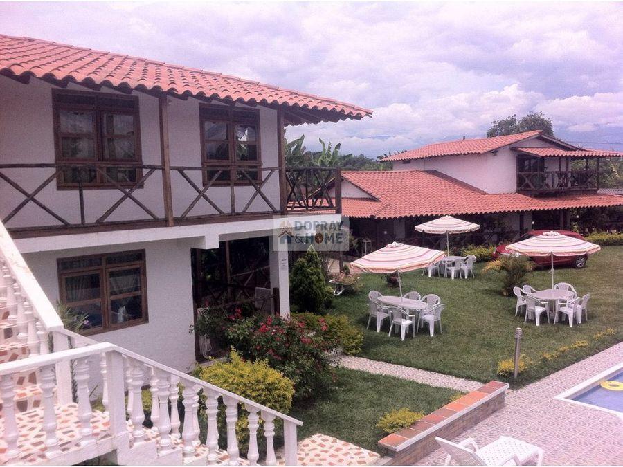 casa campestre via quimbaya completamente amoblado