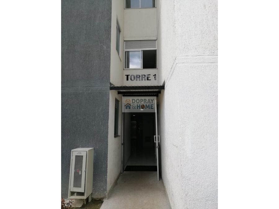 se vende apartamento en conjunto cerrado en guaduales del cafe