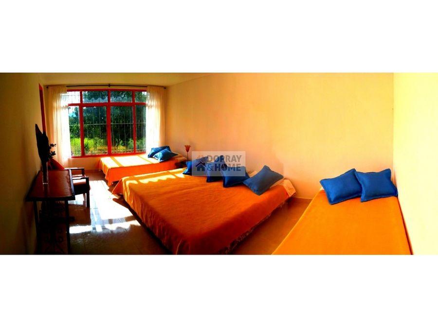 se vende finca hotel via montenegro quimbaya