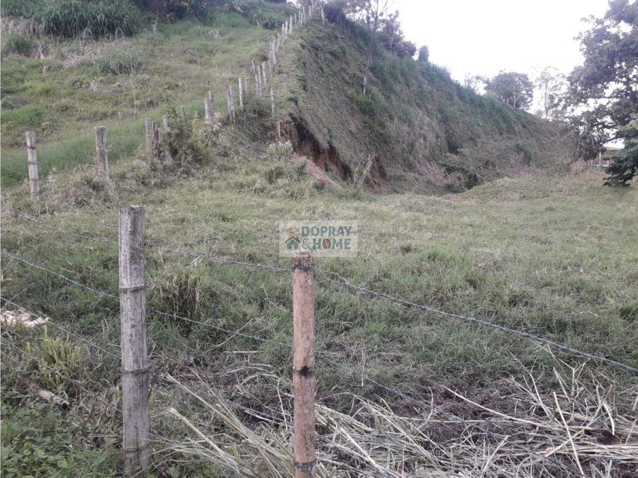 se vende lote en armenia san juan bosco