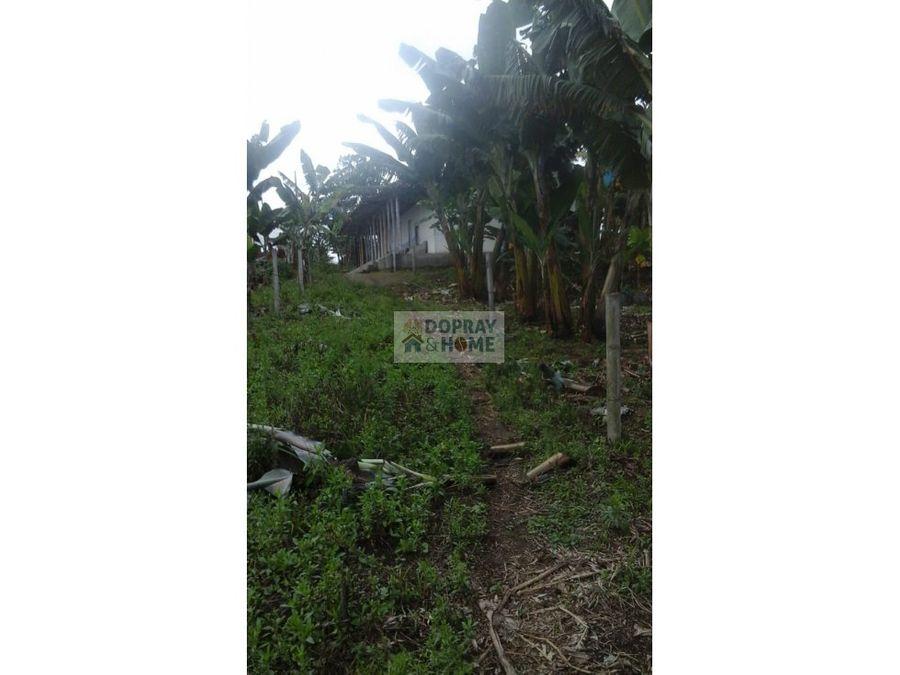 se vende finca via filandia quimbaya