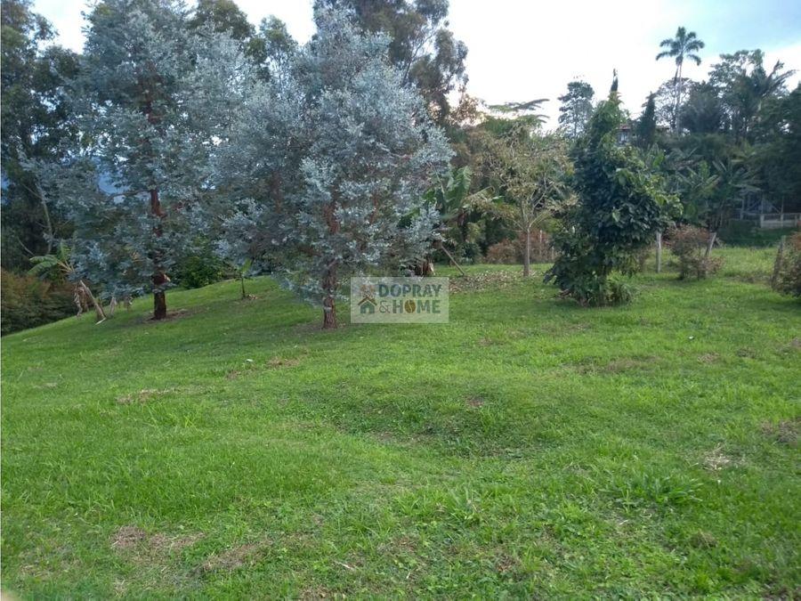 se vende lote en la vereda los pinos