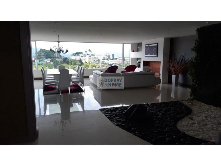 se vende apartamento en armenia con excelente vista