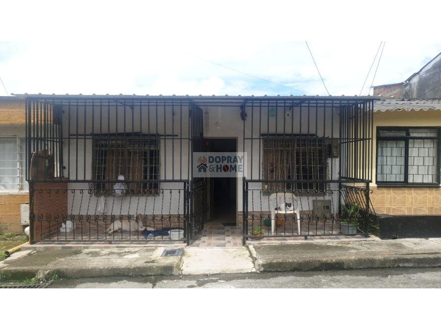 se vende casa en el barrio san andres de armenia