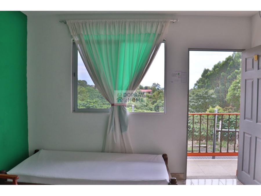 se vende hermoso finca hotel en via montenegro circasia