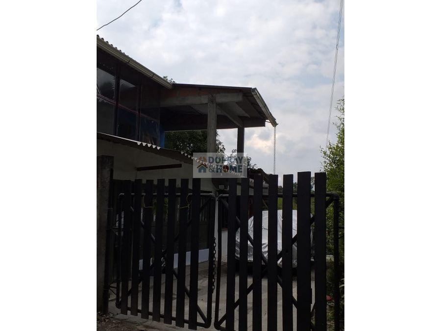 se vende casa campestre en filandia quimbaya