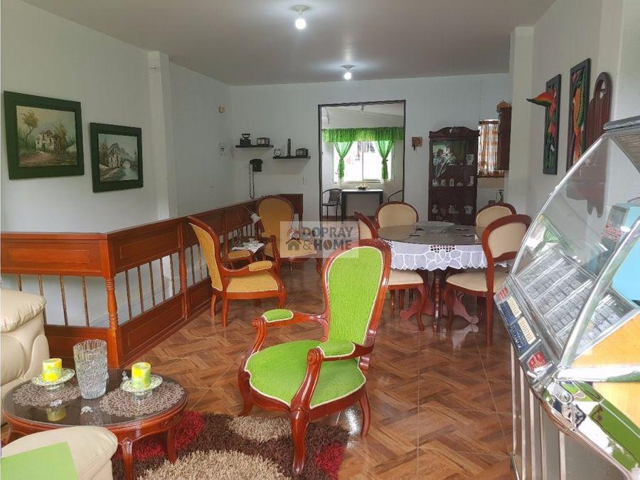 casa colonial en el centro de genova quindio