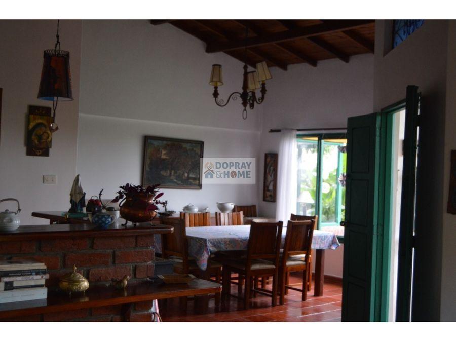 se vende preciosa casa campestre via armenia pereira