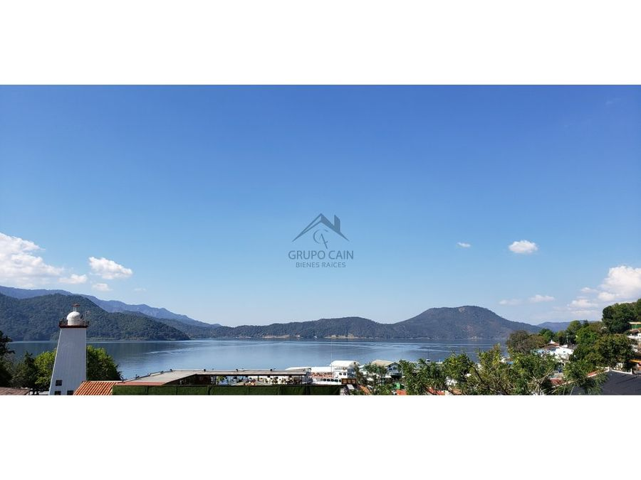 departamento en renta con vista al lago