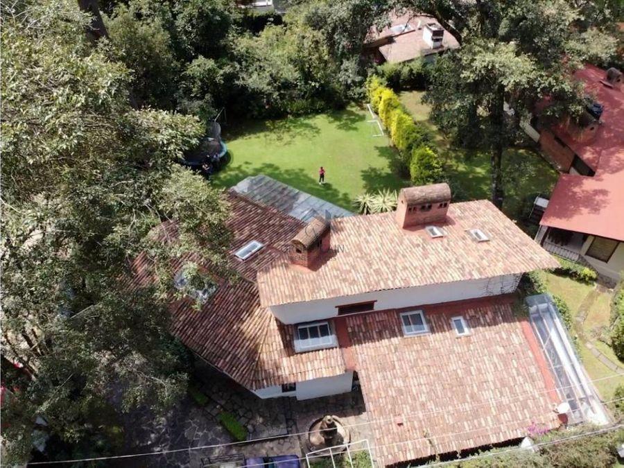 casa en venta avandaro valle de bravo