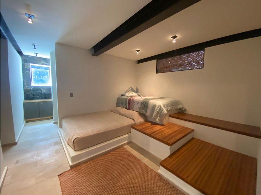 casa nueva en renta con vista al lago