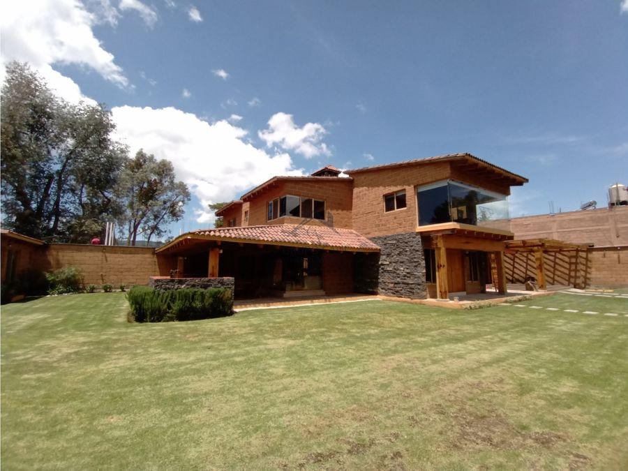 bonita casa estilo campestre