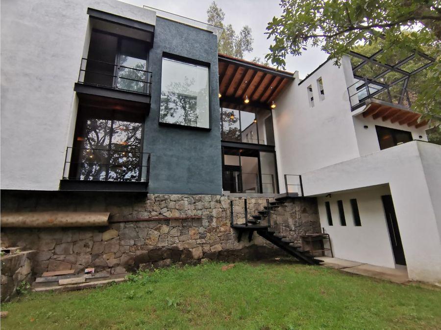 casa nueva en venta valle de bravo