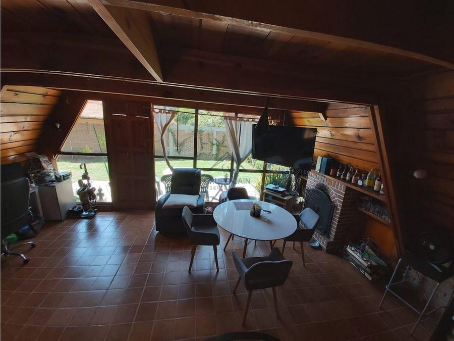 cabana en venta en avandaro valle de bravo
