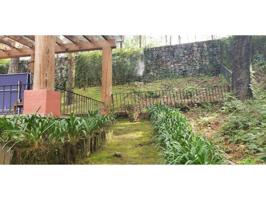 casa en venta con entorno de bosque avandaro