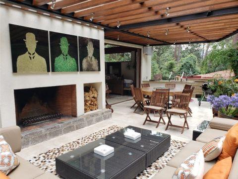 hermosa casa en venta en avandaro