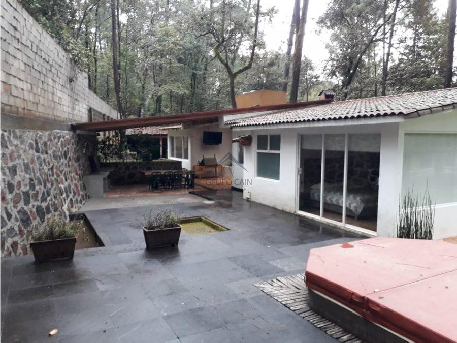 casa en venta en avandaro rodeada de naturaleza