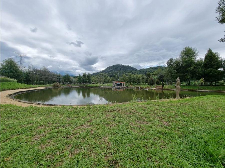 excelente rancho en venta en valle de bravo
