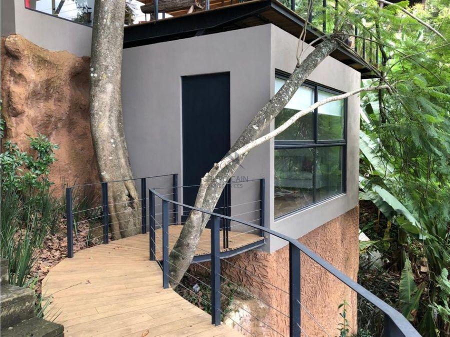 moderna casa en venta valle de bravo