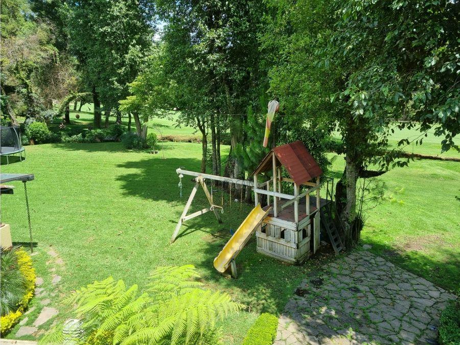 casa en venta dentro de club de golf avandaro